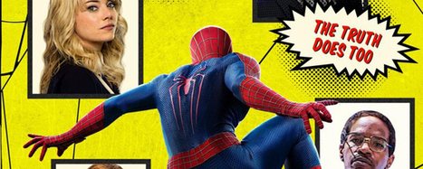 The Amazing Spider-Man 2 : l'affiche qui rend hommage aux comics - AlloCiné | Comics | Scoop.it