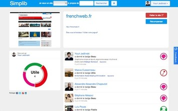 La startup du jour : Simplib, une nouvelle façon de partager ses sites favoris   MOOC Francophone   Scoop.it