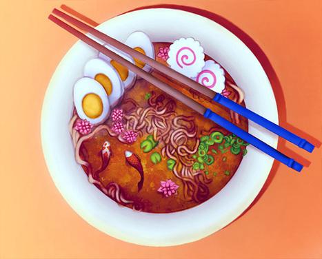 Create a Surreal Ramen Bowl Illustration in Adobe Photoshop - Tuts+ Design & Illustration Tutorial | Photoshop Tutorials | Scoop.it