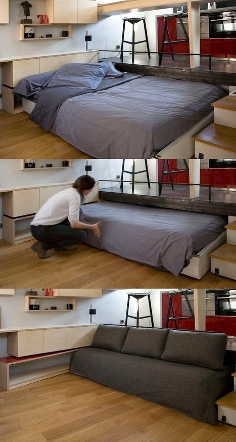 Arquitetos projetam micro apartamento ideal para quem não possui ... | arkhitekton | Scoop.it