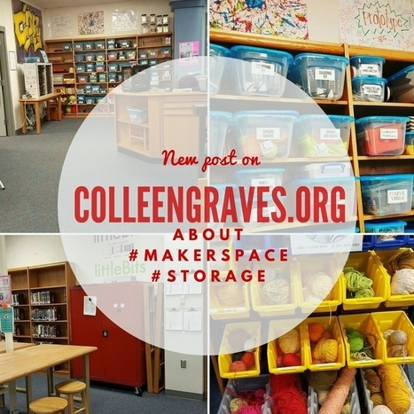 Makerspace Storage | Library world, new trends, technologies | Scoop.it