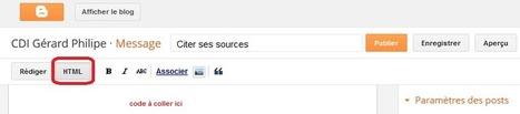 Intégrer un éditeur de bibliographie à E-sidoc (ou Netvibes, le blog du CDI, etc.) | Guillaume Grisel | Scoop.it