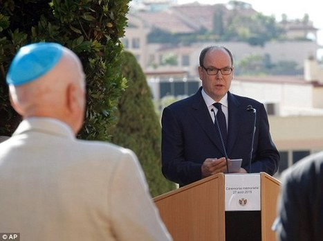 Prince Albert apologises for Monaco's role in deporting Jews to Nazis | Humanity | Scoop.it