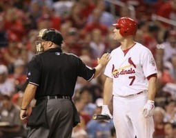 Fan arrested for allegedly pointing laser at pitcher, manager in Busch Stadium - STLtoday.com | Sports Facility Management | Scoop.it