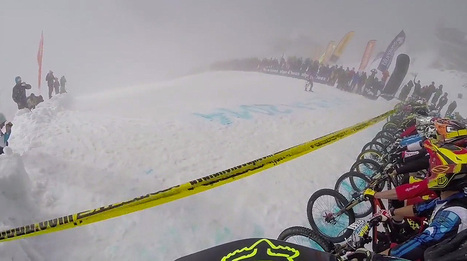 Descending into the abyss - 2014 Megavalanche - GoPro Full Run   Dirt   UCC MEGAVALANCHE MAXIAVALANCHE TRANSVÉSUBIENNE 2014   Scoop.it