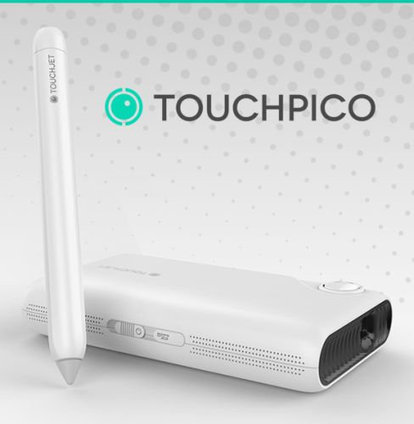 TouchPico Android Projector Transforms Your Wall into a Touch enabled Display (Crowdfunding) | Embedded Systems News | Scoop.it