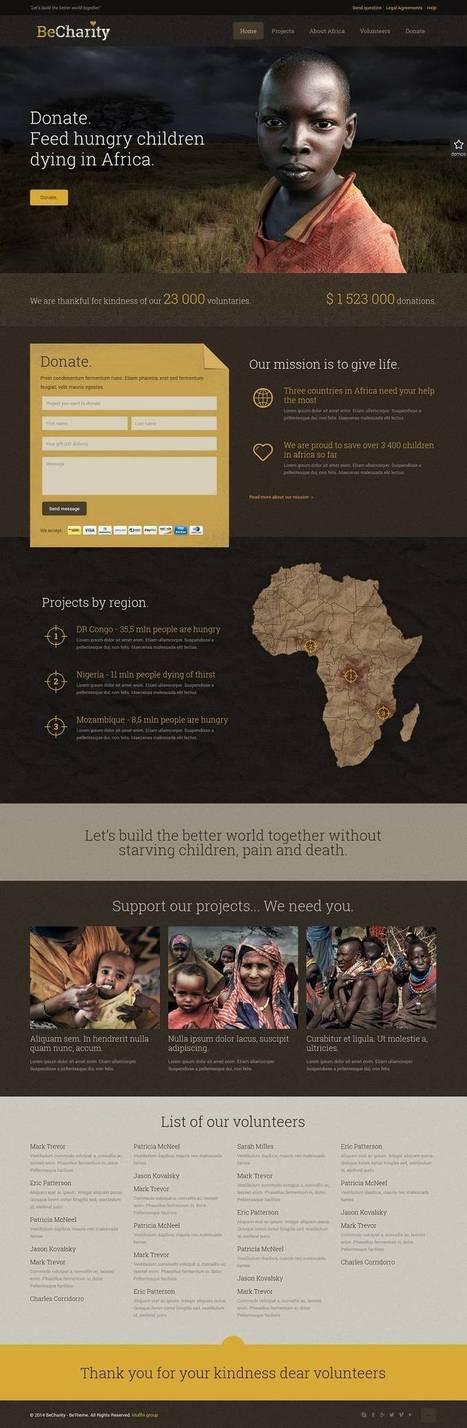 10+ Best Charity WordPress Themes 2014 - Web Create.Me   Professional WordPress Themes Designs   Scoop.it