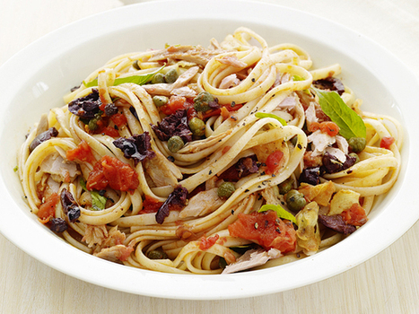Linguine with Tuna Puttanesca Recipe : Food Network Kitchens : Food Network | Nutrition Know-Hows | Scoop.it