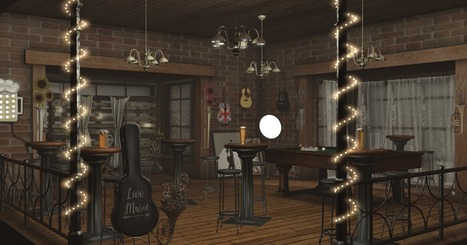 I know a whoopee spot. Where the gin is cold. But the piano's hot! | Second life HOUSE | Scoop.it