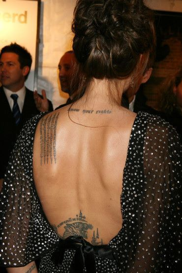Angelina Jolie | Amantes a los Tatuajes | Scoop.it
