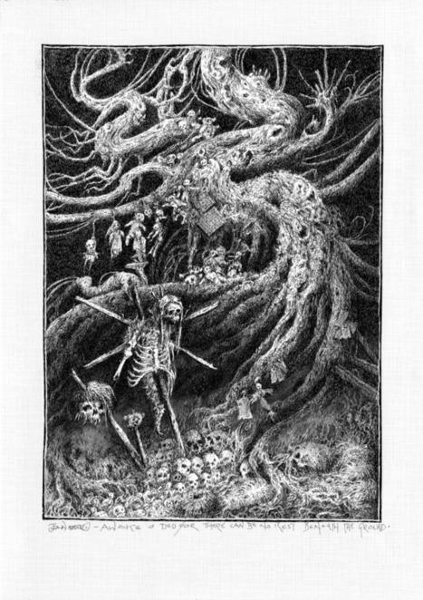 "John Blanche, ""The Voodoo Forest"" | Inspiration Rôlistique | Scoop.it"