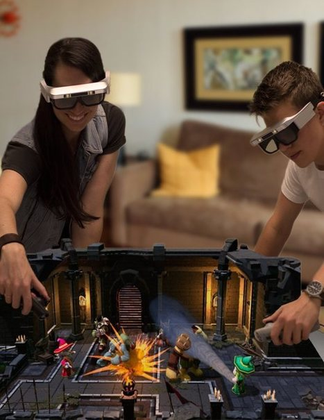 CastAR Raises $15 Million for Augmented Gaming ^  Make: ^ by Andrew Terranova | Serious-Minded Games | Scoop.it