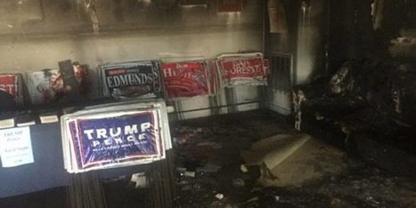 Republican Party Headquarters in North Carolina 'Firebombed' According to GOP Officials | LibertyE Global Renaissance | Scoop.it