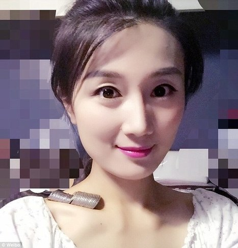 China goes wild at new social media challenge as thousands upload selfies to show how many coins they can hold with their COLLARBONES | Soup for thought | Scoop.it