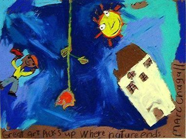 Mark Chagall - Oil Pastels Drawing | Artists for Elementary Art | Scoop.it