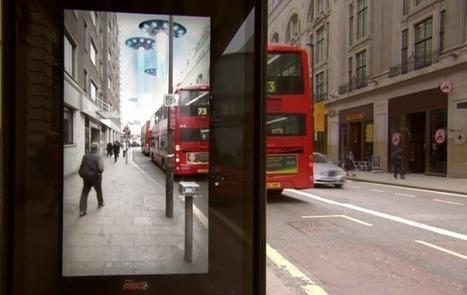 Pespi Max piège les londoniens avec un abribus en réalité augmentée | Communication, marques, stratégies | Scoop.it