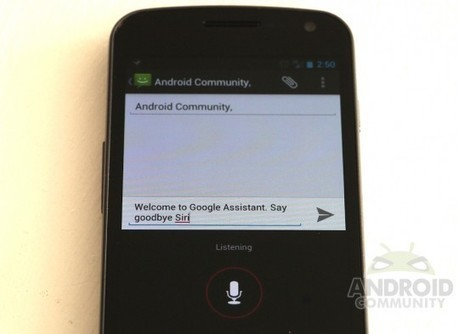 """Google """"Assistant"""" coming late 2012, will best Apple's Siri - Android Community 