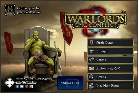 Ryan's Game Ryviews: Warlords: Epic Conflict --- Flash Ryview | Ryan's Game Ryviews | Scoop.it