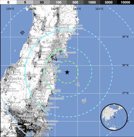 Earthquake - M 6.2 - NEAR THE EAST COAST OF HONSHU, JAPAN | Japan Tsunami | Scoop.it