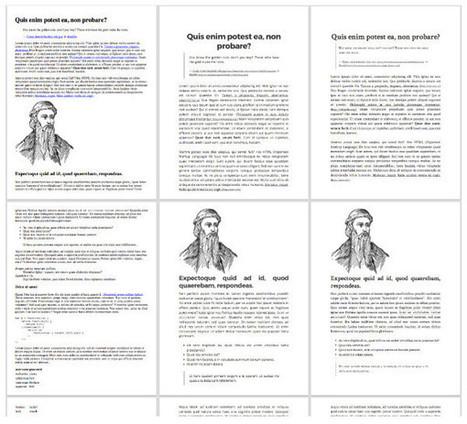 Imprimez le web avec Gutenberg | Pep'up convergence | Scoop.it