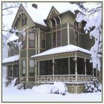 Energy Efficient Winter Decorating Victorian Style | Historic Interior Decorating for Period Homes | Scoop.it