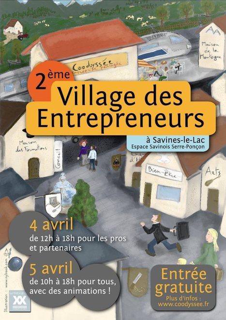 Coodyssée - Le 2ème village des Entrepreneurs | Ca bouge dans le 05 ! | Scoop.it