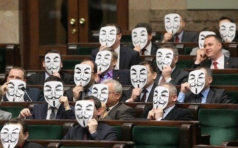 Polish parliamentarians protest ACTA   Anonymous: Freedom seeker? or Hacker?   Scoop.it