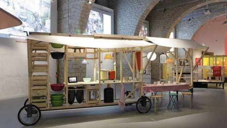 Design pour cantines de rue - Le Figaro   Innovation bois   Scoop.it