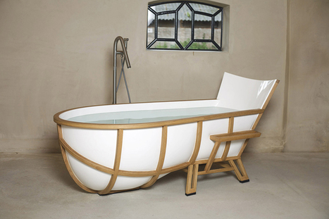 Studio Thol's Armchair-Inspired Bathtub | What Surrounds You | Scoop.it