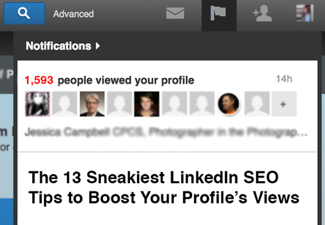 The 13 Sneakiest LinkedIn SEO Tips to Boost Your Profile's Views | LinkedIn Marketing Strategy | Scoop.it