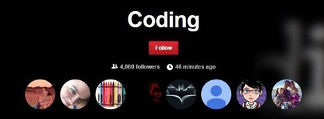 Coding on Pinterest | iPads, MakerEd and More  in Education | Scoop.it