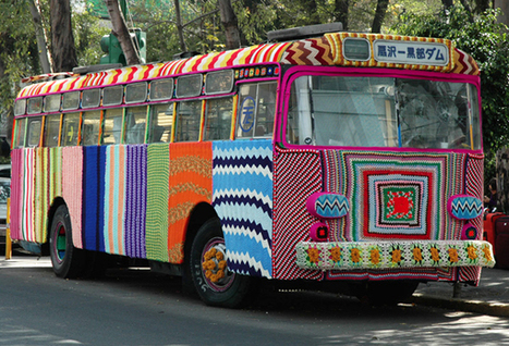 The Mother of All Yarn Bombs: A Bus in Mexico City Takes a Yarn Bombing - Enpundit | Creative Civilization | Scoop.it