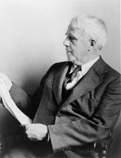 Robert Frost Recites 'Stopping by Woods on a Snowy Evening' | 6-Traits Resources | Scoop.it
