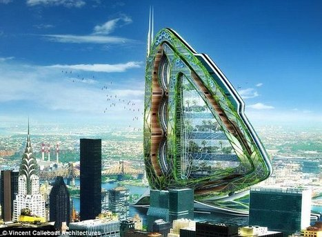 Fields and orchards in the SKY: Highrise 'urban farms' are the future ... | Vertical Farm - Food Factory | Scoop.it