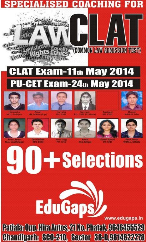 CLAT Coaching in Chandigarh | CLAT-LAW Coaching Classes | Scoop.it