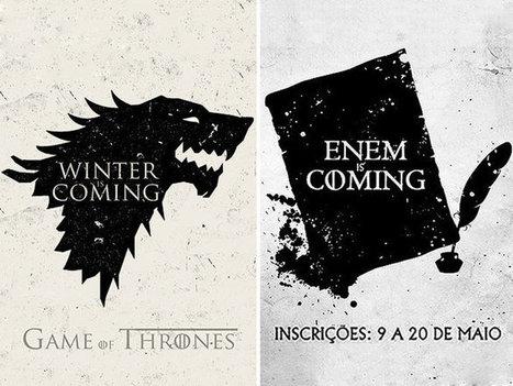 Enem 2016: MEC recorre a 'Game of Thrones' para divulgar inscrições   TecnologoDS Magazine   Scoop.it
