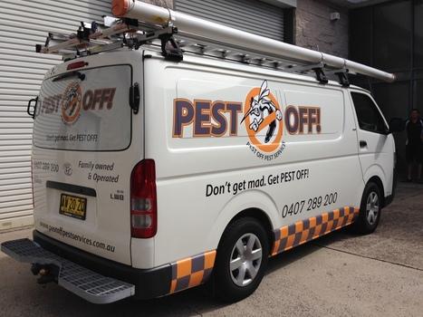 Van Signage – Pest Off Pest Services | Plastic Printing blog | Plastic Printing Pty Ltd | Scoop.it