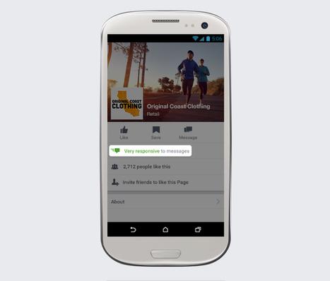 Facebook : 4 nouvelles fonctionnalités pour stimuler la conversation sur les pages ! | Facebook pour les entreprises | Scoop.it