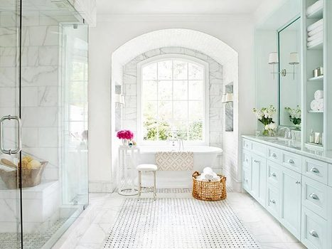 Creating a Timeless Bathroom Look - All You Need to Know – Adorable Home | Adorable Home - Inspirational Home Design and Decorating Ideas | Scoop.it