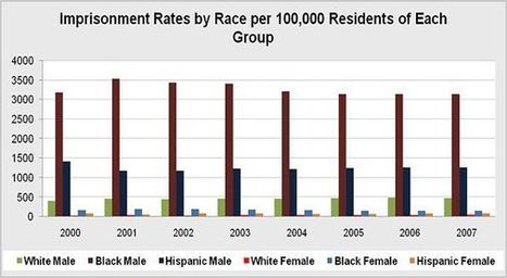 Project America: Crime: Prison Population: Prison Population by Race | Discrimination in the US Prison System | Scoop.it