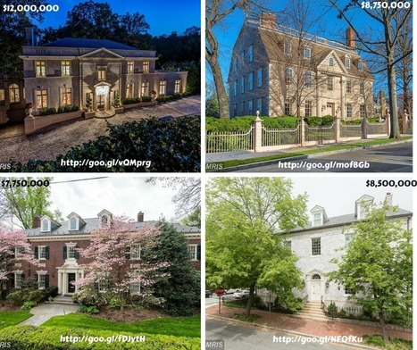 Four Most Expensive Homes for Sale in Washington, DC Today | Location Location Location Real Estate | Scoop.it