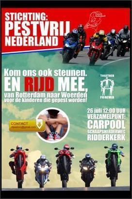 Dichtbij.nl: 'Woerdenaar organiseert Rit tegen Pesten' | Stichting Pestvrij Nederland | Scoop.it