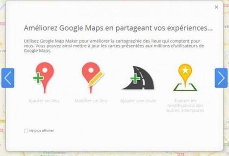 Google lance le Google Maps participatif en France | Image Digitale | Scoop.it