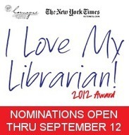 I Love My Librarian Award | At Your Library | Tennessee Libraries | Scoop.it
