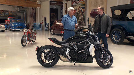 Watch Jay Leno rip a Ducati XDiavel S | Ductalk Ducati News | Scoop.it