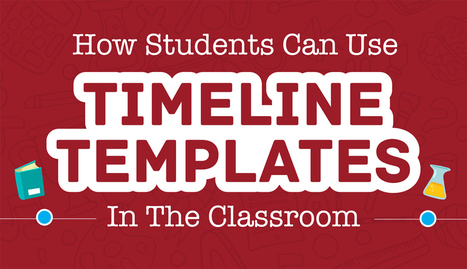 How Students Can Use Timeline Templates in the Classroom | tics | Scoop.it