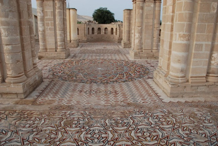 One of the world's largest floor mosaics to be opened to public in Jericho | Archaeology News Network | Kiosque du monde : Asie | Scoop.it
