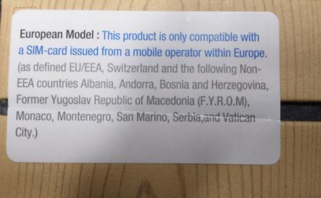 Le Samsung Galaxy Note 3 vendu en France accepte uniquement les cartes SIM Européennes | Geeks | Scoop.it