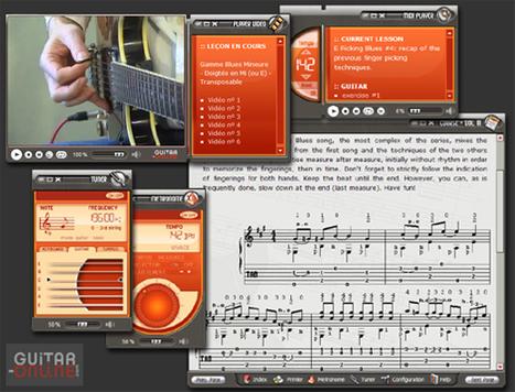 Méthodes de Guitare + Vidéo sur CD-ROM - Volume III | Apprendre la guitare et la musique avec des logiciels éducatifs | Scoop.it
