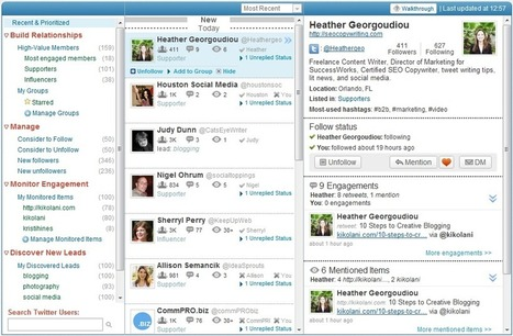 Manage & analyze your Twitter account with the top Twitter tools | SEO Tips, Advice, Help | Scoop.it